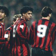 Il trio olandese del Milan: Gullit, Rijkaard e Van Basten