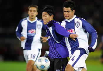 Gamba-Pachuca 1-0: Yamazaki anticipa Perez