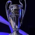 Il trofeo dell'Uefa Champions League