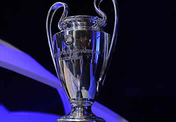 Il trofeo dell'Uefa Champions League