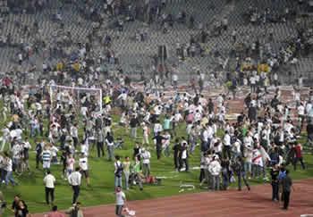 2 aprile 2011: stadio Internazionale del Cairo