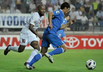 Il 3-2 sull'Al Wahda dà al Bunyodkor gli ottavi dell'AFC Champions League 2011