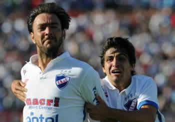 Alvaro Recoba con la maglia del Nacional