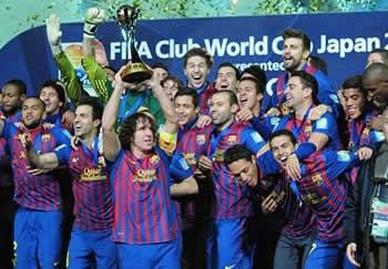Barcellona, campione del mondo 2011