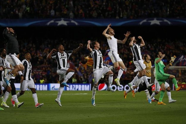 Festa Juve al Camp Nou