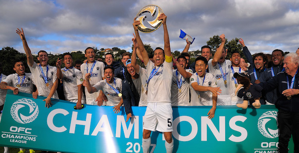 Auckland City vincono l'OFC Champions League 2017. Foto credit: OFC via Phototek