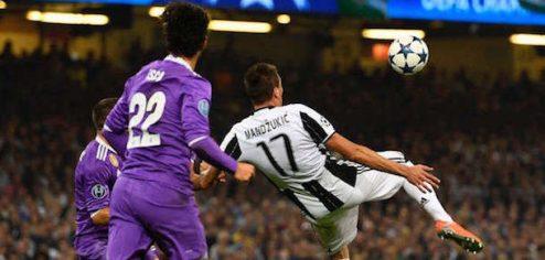 Mandzukic sigla l'1-1 su rovesciata nella finale col Real