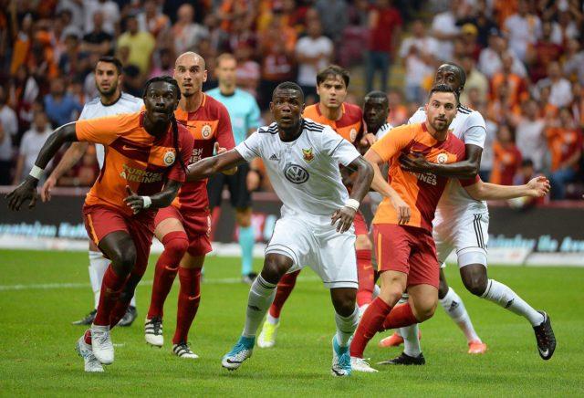 Galatasaray-Oestersund 1-1