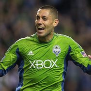 Clint Dempsey (Seattle Sounders). Photo credit: Dean Rutz, The Seattle Times