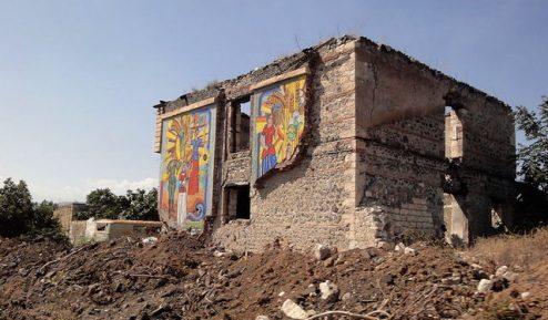 Quel che resta del Museo di Agdam (Foto credit: Divot)