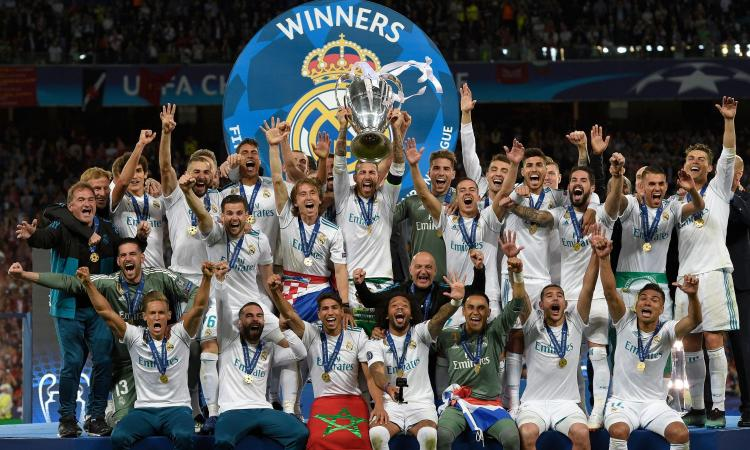 Real Madrid campione d'Europa 2018