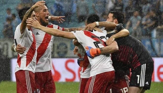 Gremio-River Plate 1-2