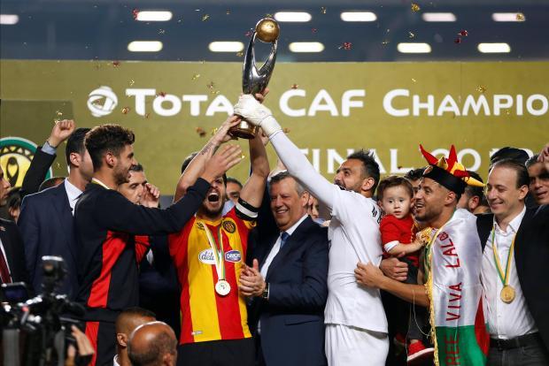 ES Tunis in festa per la vittoria della CAF Champions League 2018