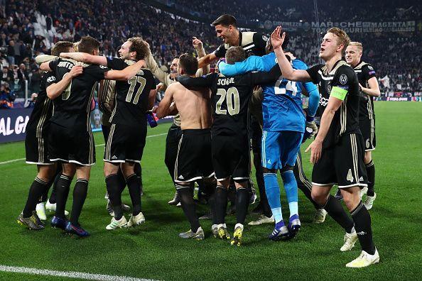 Ajax in festa