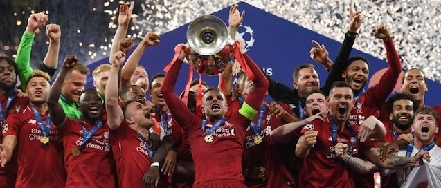 Liverpool campione d'Europa 2019