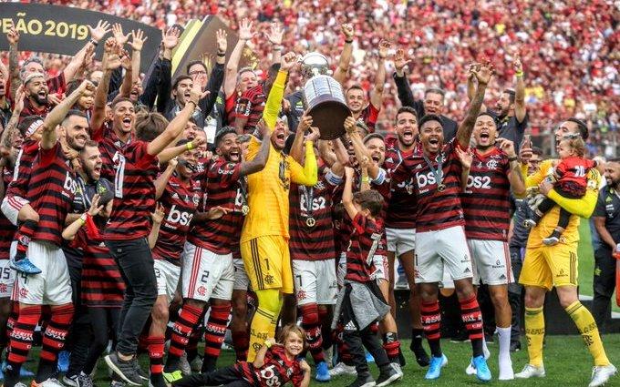 Flamengo in festa con la Coppa Libertadores 2019