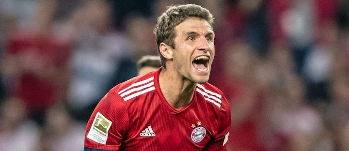 Thomas Muller (Bayern Monaco). Photo credit: © DFL DEUTSCHE FUSSBALL LIGA
