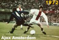 Ajax 1972: Johan Cruyff nella finale vinta 2-0 contro l''Inter