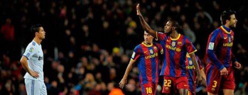 Barcellona-Real Madrid 5-0