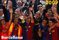 Barcellona 2009: primo successo continentale per il Barcellona di Guardiola e Messi