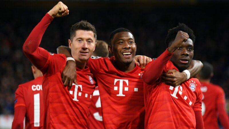 Bayern Monaco in festa