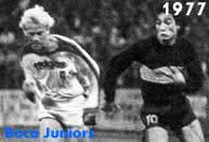 Il Borussia Moenchengladbach sostituisce il Liverpool ma viene sconfitto dal Boca Juniors nella Coppa Intercontinentale 1977