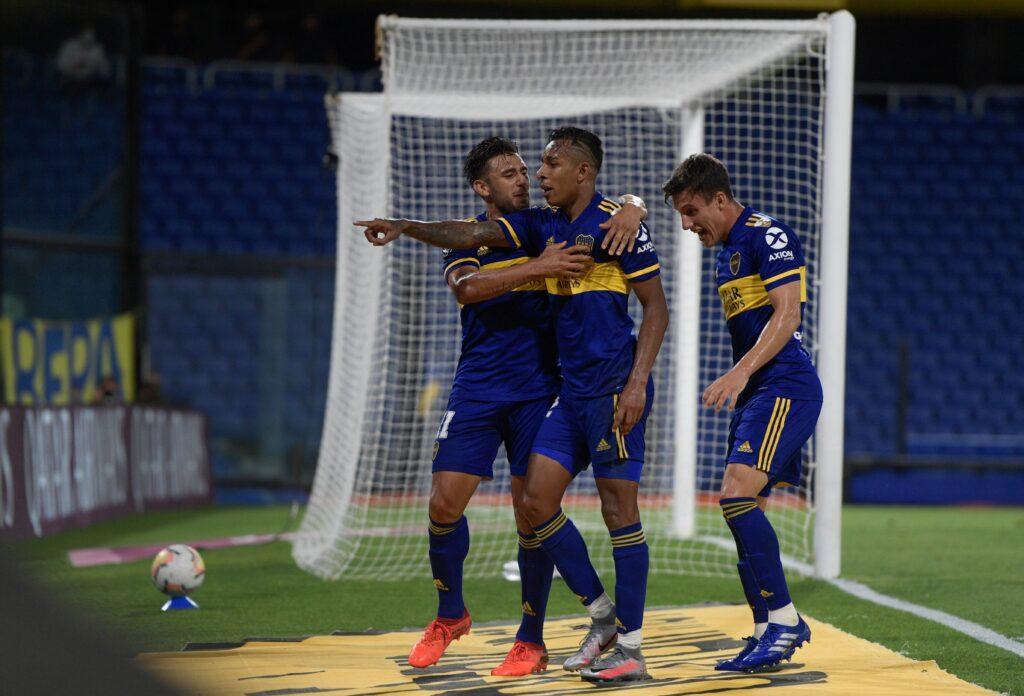 Boca Juniors in festa