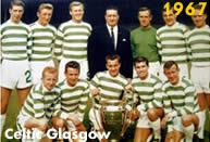 Celtic 1967: Il Celtic Glasgow supera l'Inter in finale e diventa la prima squadra britannica a conquistare la Coppa Campioni
