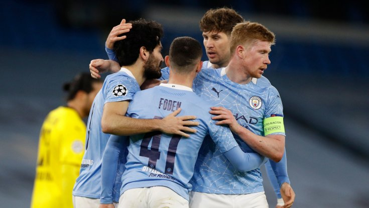 Manchester City-Borussia Dortmund 2-1