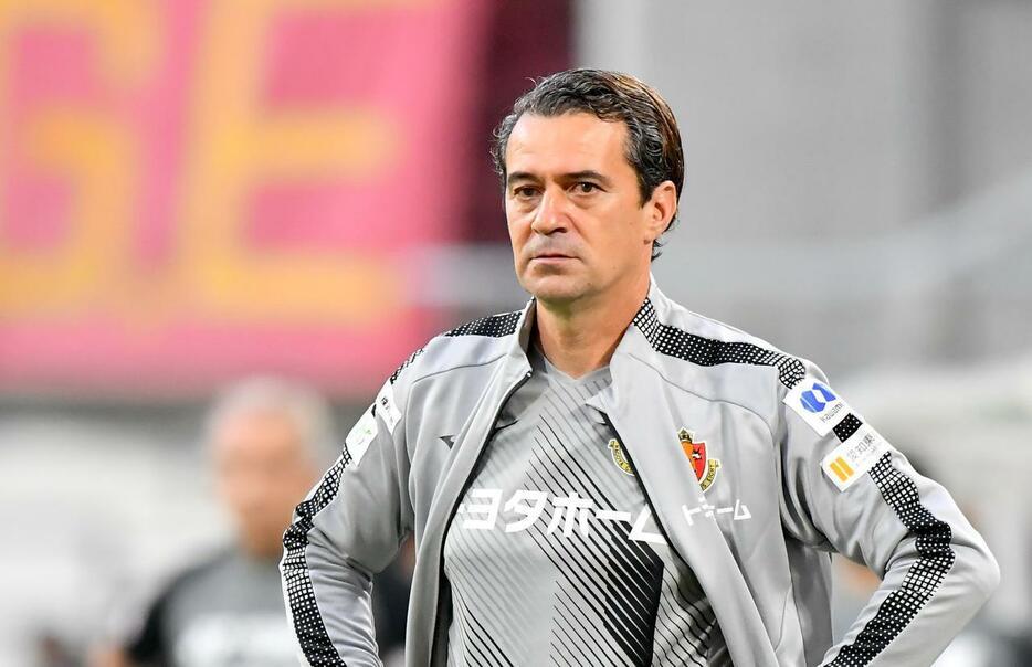 Massimo Ficcadenti, tecnico del Nagoya Grampus