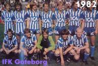Il Goteborg guidato da Sven Goran Eriksson conquista la Coppa Uefa