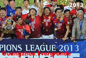 Guangzhou Evergrande campione d'Asia 2013