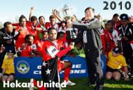 Hekari United campione d'Oceania 2010