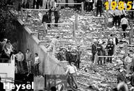 Juventus 1985: nello stadio Heysel di Bruxelles muoiono 39 tifosi. La finale verrà poi vinta 1-0 dalla Juventus sul Liverpool