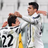 Chiesa e Morata (Juventus)