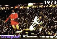 Kevin Keegan e Ray Clemence decidono per il Liverpool la sfida col Borussia Moenchengladbach