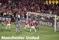 Manchester United 1999: il Manchester United sottrae la coppa dalle mani del Bayern nei minuti di recupero