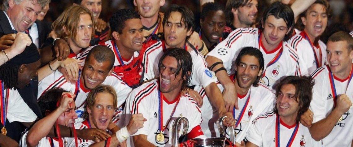 Milan, campione d'Europa 2003
