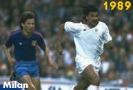 Milan 1989: il Milan di Arrigo Sacchi conquista la prima di due coppe campioni consecutive