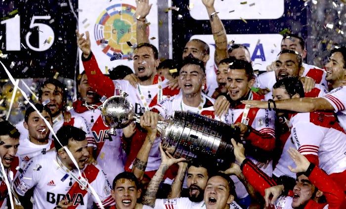 Il River Plate vince la Coppa Libertadores 2015
