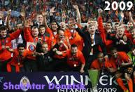Shakhtar Donetsk, vincitore dell'ultima edizione della coppa Uefa